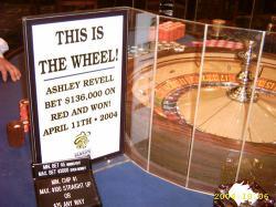 Ashley Revell roue