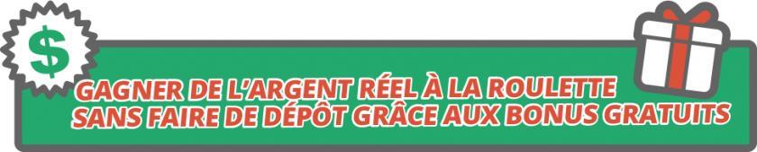 argent reel roulette sans depot bonus gratuit