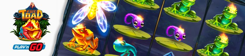 fire toad slot play n go