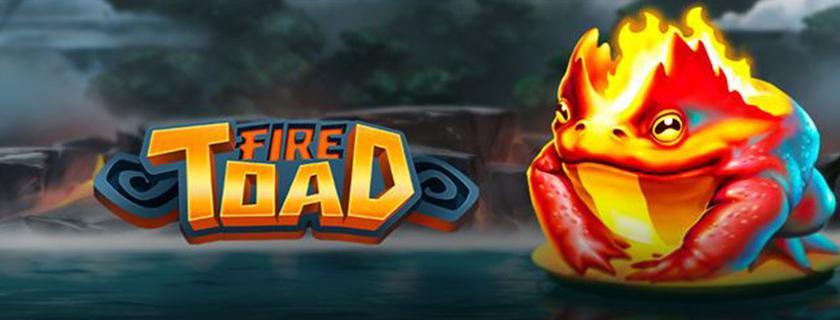 Fire Toad machine à sous Play'N Go